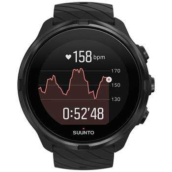 SUUNTO 9 All Black Silicone