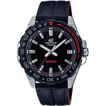 CASIO Edifice Black Leather