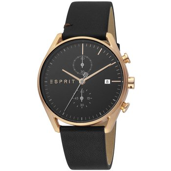 ESPRIT Lock Black Leather