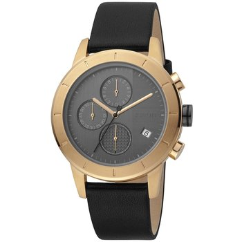 ESPRIT Big Chrono Black