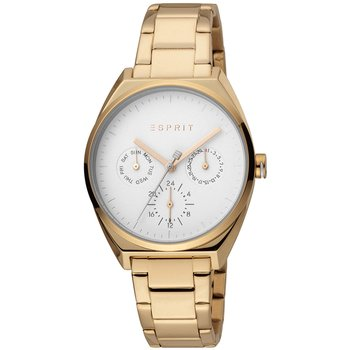 ESPRIT Slice Multi Dual Time Rose Gold Stainless Steel Bracelet