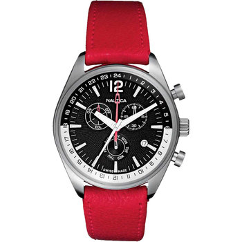 NAUTICA Chronograph Red