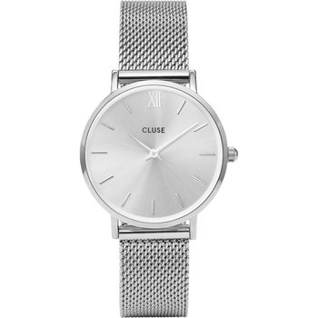 CLUSE Minuit Silver Stainless