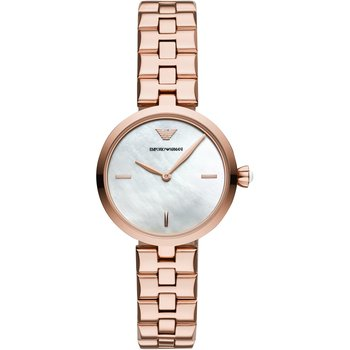 Emporio ARMANI Arianna Rose Gold Stainless Steel Bracelet