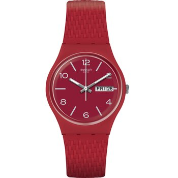 SWATCH Lazered Red Silicone