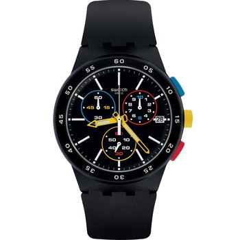 SWATCH Black-One Chronograph