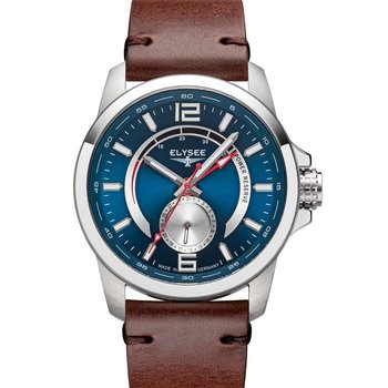 ELYSEE Ziros Power Automatic Brown Leather Strap