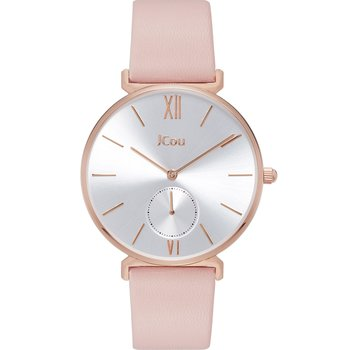 JCOU Grace Pink Leather Strap