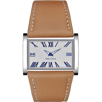 NAUTICA Ladies Brown Leather