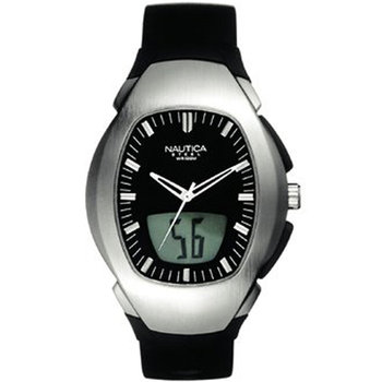 NAUTICA Ladies Black Rubber