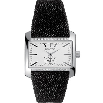 NAUTICA Ladies Crystals Black