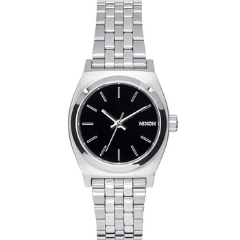 NIXON The Small Time Teller Silver Stainless Steel Bracelet