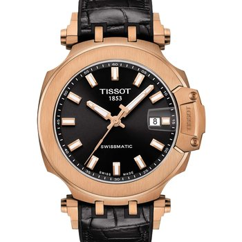 TISSOT T-Sport T-Race Automatic Black Combined Materials Strap