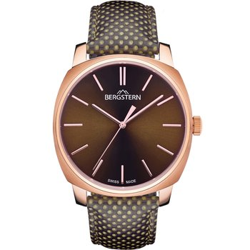 BERGSTERN Harmony Brown Leather Strap