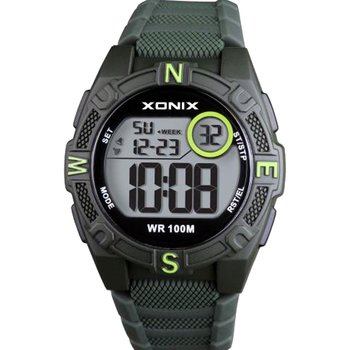 XONIX Mens Chronograph Green
