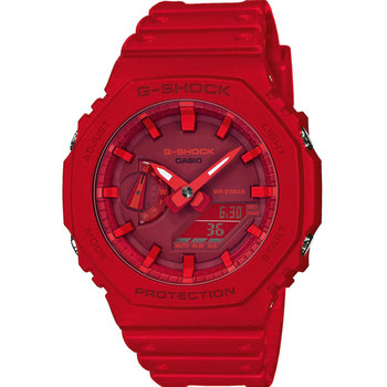 CASIO G-SHOCK Chronograph Red Rubber Strap
