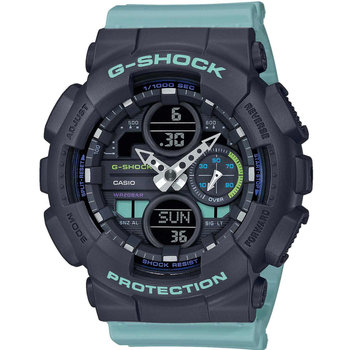 CASIO G-SHOCK Chronograph Turquoise Rubber Strap