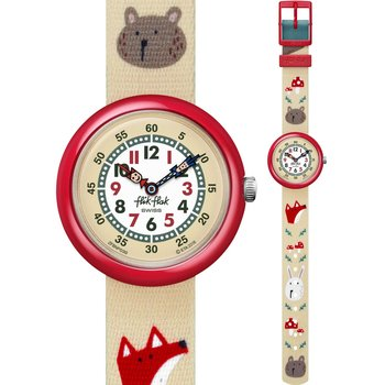 FLIK FLAK Tilly Lou'n Buster Multicolor Fabric Strap