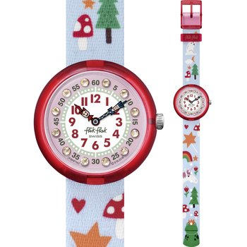 FLIK FLAK Magicination Multicolor Fabric Strap