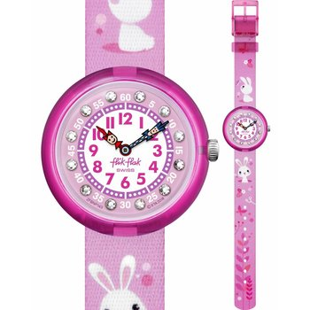 FLIK FLAK So Cute Two Tone Fabric Strap