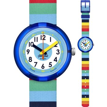 FLIK FLAK Stripybow Multicolor Fabric Strap