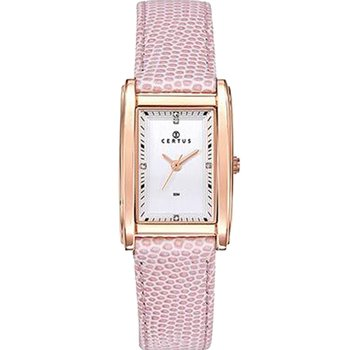 CERTUS Ladies Pink Leather