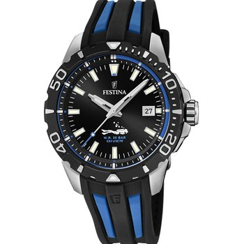 FESTINA Men's Two Tone Rubber