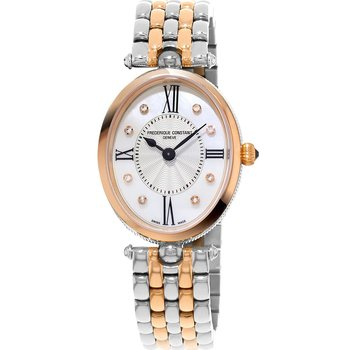 Frederique Constant Classic Diamonds Two Tone Stainless Steel Bracelet