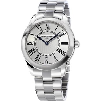 Frederique Constant Classic Silver Stainless Steel Bracelet