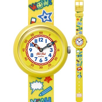FLIK FLAK Wow Yeah Multicolor Fabric Strap