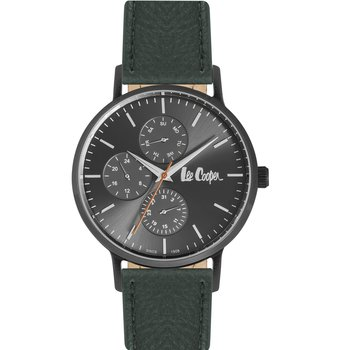 LEE COOPER Mens Green Leather