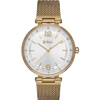 LEE COOPER Ladies Crystals Gold Stainless Steel Bracelet