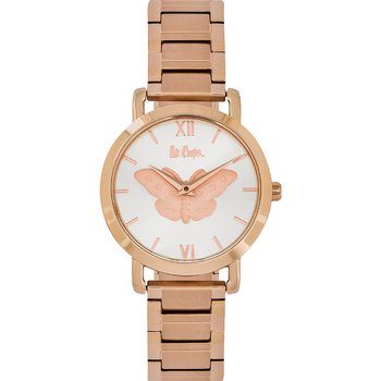 LEE COOPER Ladies Rose Gold Stainless Steel Bracelet