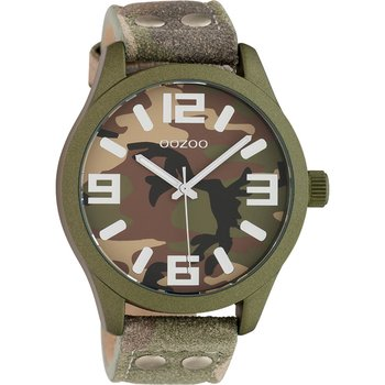 OOZOO Timepieces Camo Leather