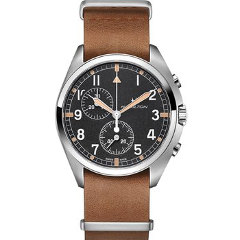 HAMILTON Khaki Aviation Pilot