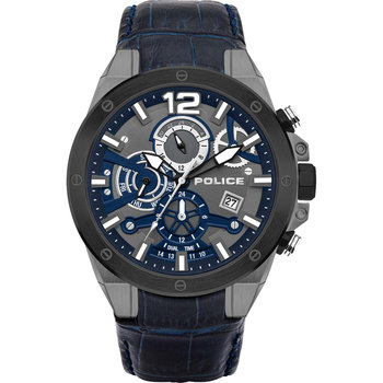 POLICE Saiho Dual Time Blue