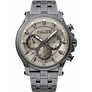 POLICE Taman Silver Stainless
