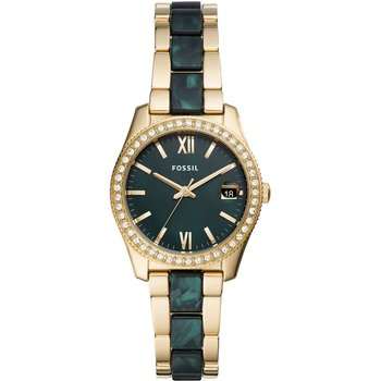 FOSSIL Scarlette Crystals Two Tone Stainless Steel Bracelet