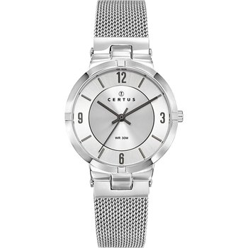 CERTUS Ladies Silver Stainless Steel Bracelet