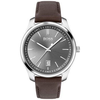 BOSS Circuit Brown Leather Strap