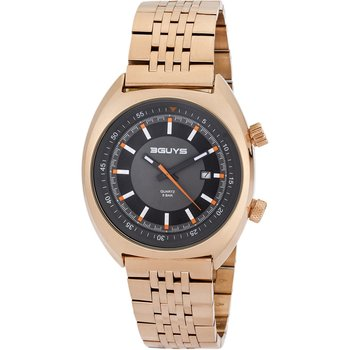 3GUYS Gents Rose Gold Stainless Steel Bracelet