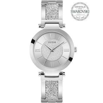 GUESS Ladies Swarovski Silver