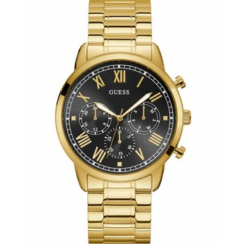 GUESS Mens Gold Stainless Steel Bracelet