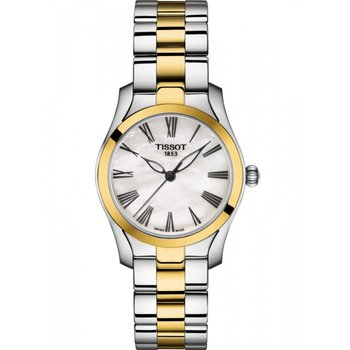 TISSOT T-Wave Two Tone Stainless Steel Bracelet