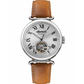 INGERSOLL Protagonist Automatic Brown Leather Strap