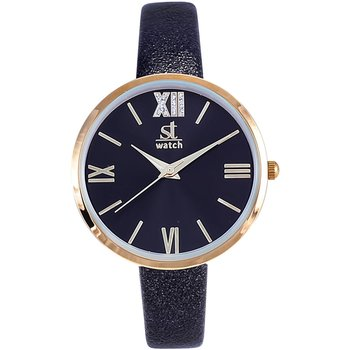 ST WATCH Rumba Crystals Black