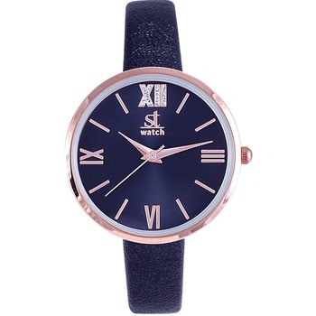 ST WATCH Rumba Crystals Blue