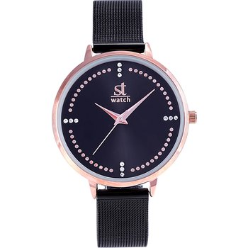 ST WATCH Salsa Crystals Black