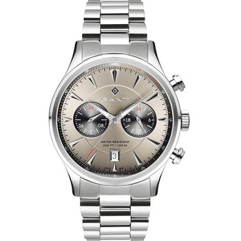 GANT Spencer Dual Time Silver
