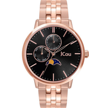 JCOU Callisto Rose Gold Stainless Steel Bracelet